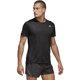 adidas Run Camiseta Manga Corta Hombre, black